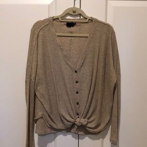 Urban Outfitters button down thermal